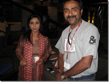 Bharat Tiwari and Nagma NDTV
