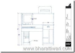 computer / study table PMT Designs (Bharat Tiwari)