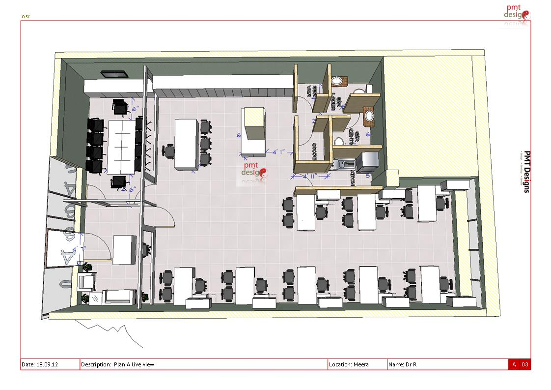 Office interior layout plan interior design Interior design architecture firms